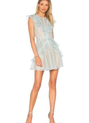 Шикарне кружевне плаття bcbgmaxazria платье рюша премиум self ...