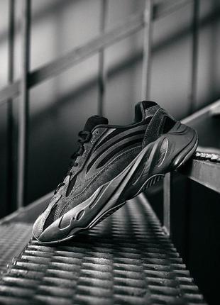 Кроссовки adidas yeezy boost 700 v2 black 🌶