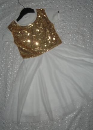 Летнее платье на девочку 8л
