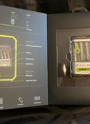 Зарядка на солнечных батареях Guide 10 Plus
