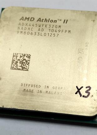 Процессор AMD Athlon II X3 445 3.1GHz 3 ядра Socket AM2+/AM3