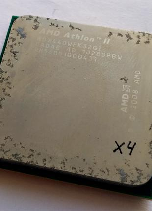 Процессор AMD Athlon II X3 440 @ AMD Phenom II X4 B40 sAM2+/AM3
