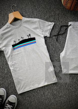 Мужской комплект шорты + футболка
