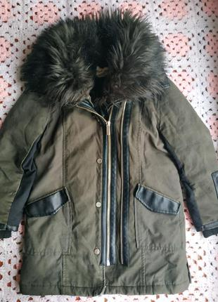 Децкая демосезонная курточка на девочку 6 лет river island