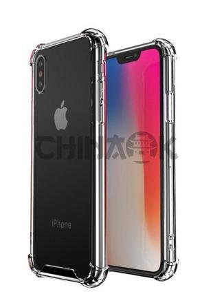 Усиленный силиконовый противоударный чехол для iPhone 11 Pro
