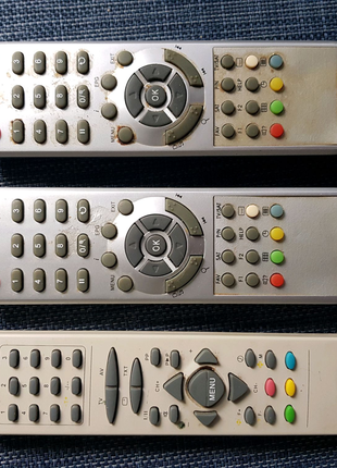 Пульт для спутника и телевизора
