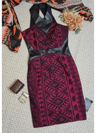 Платье hybrid/кружево/платье футляр