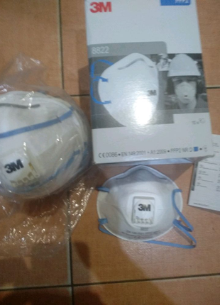 Респиратор,маска 3M 8822,класс защиты FFP-2