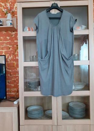 Очень интересное вискозное платье большого размера