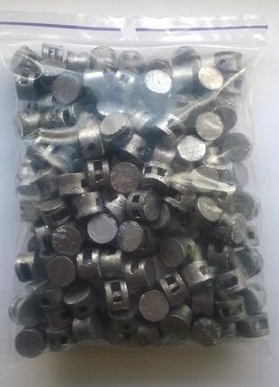 Пломбы свинцовые 10 мм - упаковка по 1 кг. Свинцовые пломбы 10...