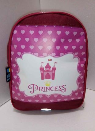 Новый рюкзак для девочки принцесса