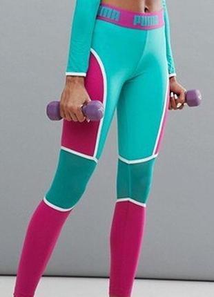 Спортивные лосины, легінси від puma, леггинсы для фитнеса, йог...
