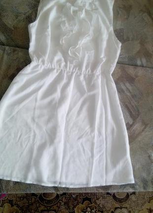 Нарядное белое платье bodyflirt