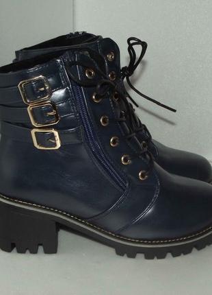 Новые женские ботинки, р.36 - 38