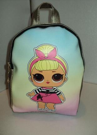 Новый рюкзак кукла лол