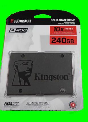 Новый SSD Kingston A400 240GB и 120GB Официальная  Гарантия 3года