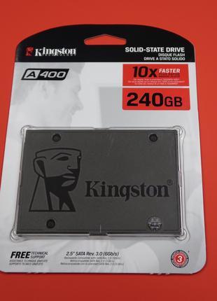 SSD Kingston A400 240GB есть и 120GB Гарантия 3года