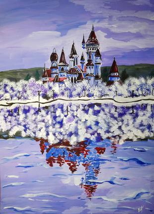"""Картина """"Фіолетовий замок"""", 2019 рік"""