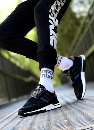 Adidas zx 500 ✰ мужские кроссовки ✰ черного цвета 😻