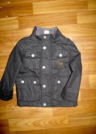 Стильная куртка ZARA на 12-24 мес