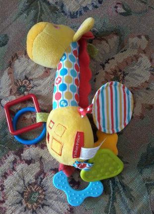 Подвеска жираф Fisher price
