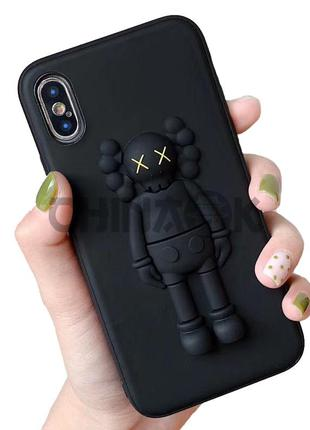 Чехол Fashion 3D Cartoon Stereo XX Kaws Toy для iPhone XS MAX