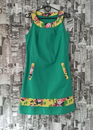 Летнее платье размер 46