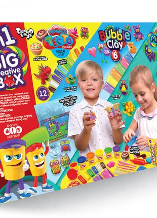 4В1 BIG CREATIVE BOX  тесто для лепки набор для творческой работы
