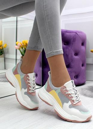 Стильные кроссовки нлвинка