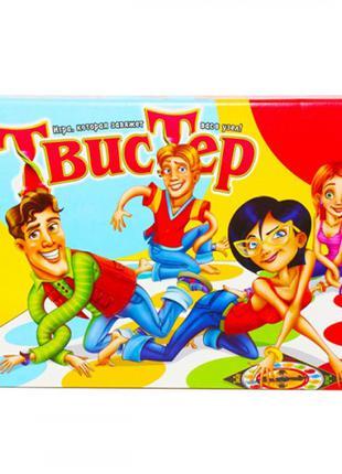 Twister Твистер Напольная игра для всей семьи