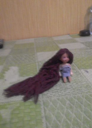 Кукла  с  пирапрашитай  галавой