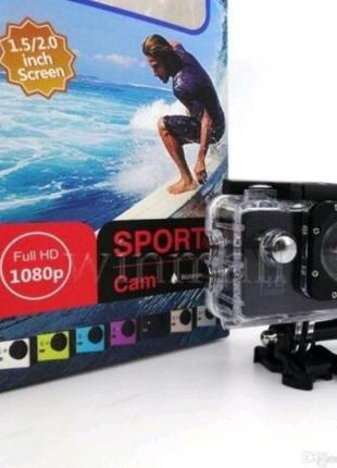 Экшн камера sjcam sj4000 go pro sports A7 аквабокс
