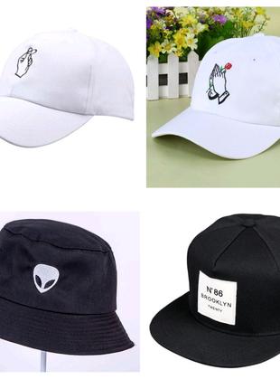 Топові кепки і панамки та бейсболки кепка, панамка, бейсболка