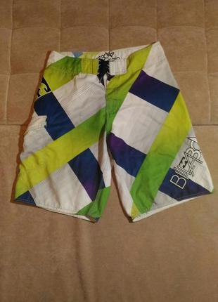 Яркие пляжные лёгкие шорты billabong, размер 32 m l