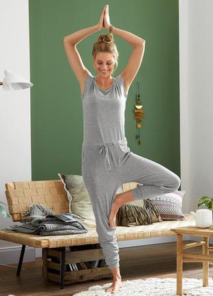 Дышащий комбинезон для йоги и отдыха tcm tchibo германия на на...