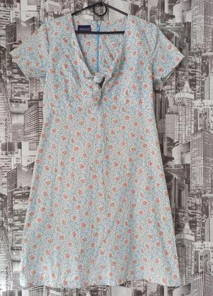 Приталенное платье новое размер 44-46