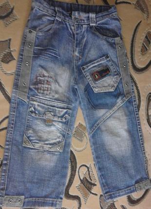 Джинсовые летние шорты (бриджи) для мальчика