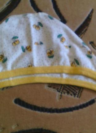 Шапочки новорожденным