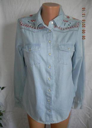 Новая рубашка с вышивкой falmer