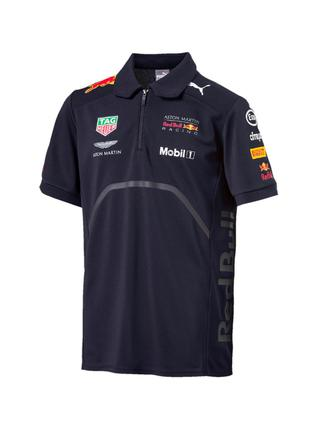 Поло PUMA aston martin red bull racing 18 polo jersey (размер M)
