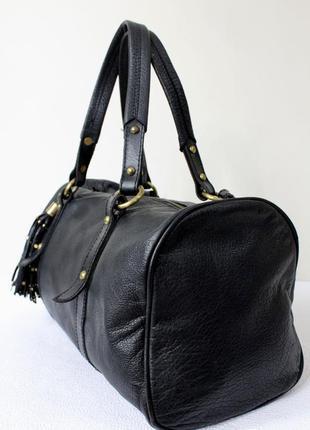 Кожаная сумка  miss selfridge