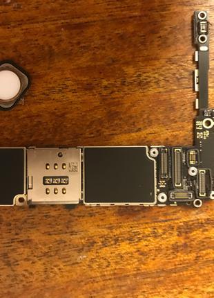 Плата iphone 6s plus 64 gb gold icloud