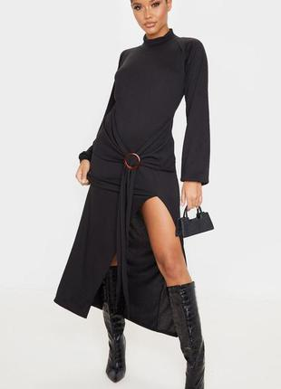 Prettylittlething. эксклюзивное платье макси uk 8 новое.