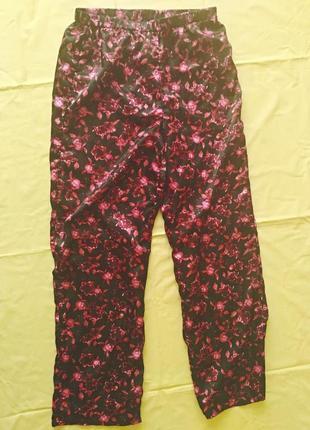 Шелковые брюки ,штаны пижамные ,для дома
