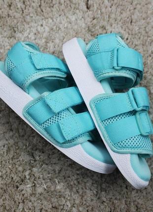 Женские летние босоножки \сланцы \сандали \шлепанцы adidas san...