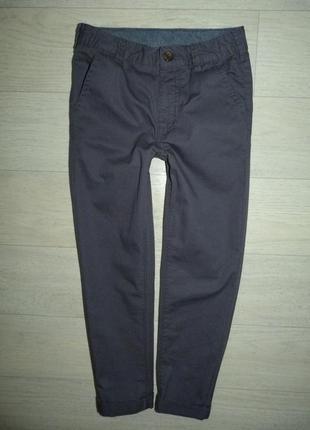 Серые котоновые штаны, брюки george 6-7 лет