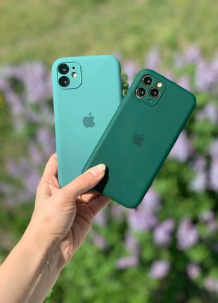 Чехол Silicone Case Full Camera iPhone  11 11 Pro 11 Pro Max