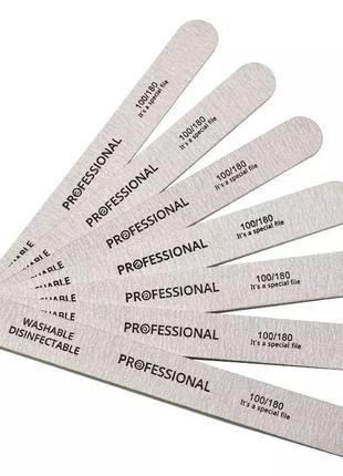 Набір пилочок для манікюра, пилочки для ногтей.