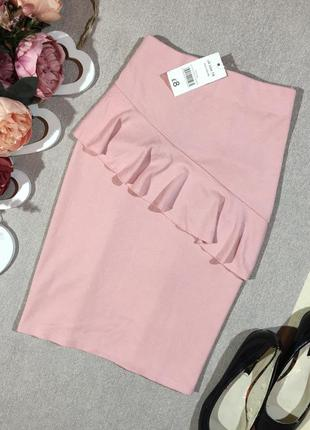 Новая! шикарная юбка по фигуре с вискозы.