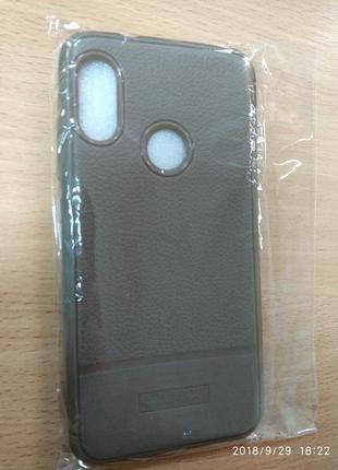 Чехол бампер для телефона Xiaomi mi a2 lite (светло-коричневый)